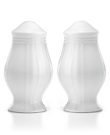 Mikasa Dinnerware, Antique White Salt and Pepper Shakers