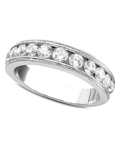 Diamond Band Ring in 14k White Gold (3/4 ct. t.w.)