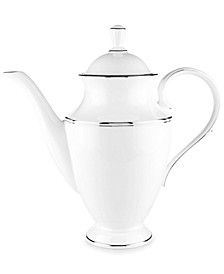 Federal Platinum Coffee Pot
