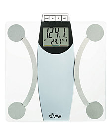 Weight Watchers WW67T Glass Scale, Body Analysis