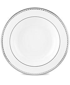 Pearl Platinum Rim Soup Bowl