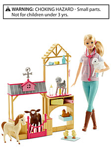 Mattel Barbie Farm Vet Set