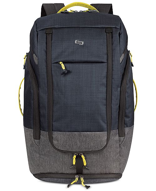 """Solo Velocity 17.3"""" Backpack Duffel"""