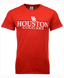 J America Men's Houston Cougars Line Stack T-Shirt