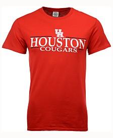 J America Men's Houston Cougars Line Stack T-Shirt