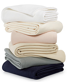 Lauren Ralph Lauren Luxury Ringspun 100% Cotton Blankets