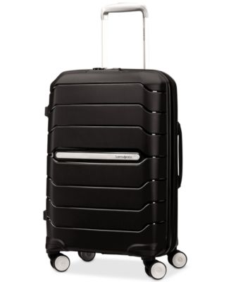 "Image of Samsonite Freeform 21"" Carry-On Expandable Hardside Spinner Suitcase"