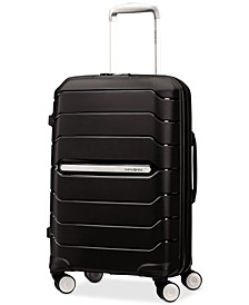 "Freeform 21"" Carry-On Expandable Hardside Spinner Suitcase"