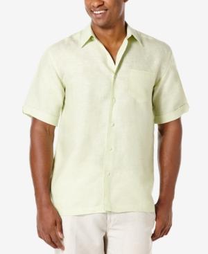 Men's 100% Linen Short-Sleeve Shirt
