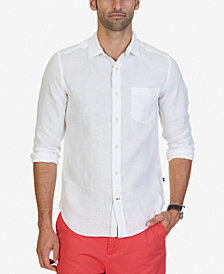 Nautica Men's Linen Shirt