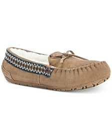 Women's Jane Suede Moccasin Slippers