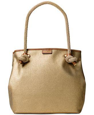 MICHAEL Michael Kors Maritime Large Beach Tote - Handbags ...