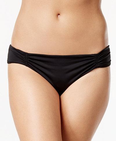 Bar III Tab-Side Cheeky Bikini Bottoms, Created for Macy's