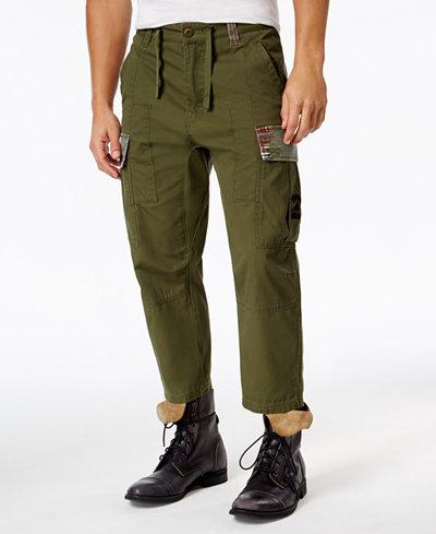 LRG Men's Big and Tall Tapered-Leg Cargo Pants - Pants - Men - Macy's