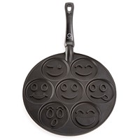 Deals on Martha Stewart Collection Smiley Face Pancake Pan