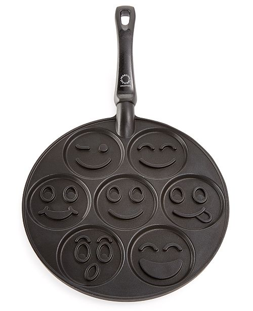Martha Stewart Collection Smiley Face Pancake Pan Created For