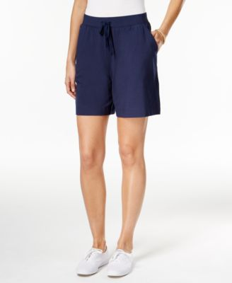 Image of Karen Scott Pull-On Active Shorts, Only at Macy's