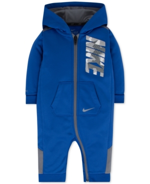 Nike 1Pc Hooded Thermafit Coverall Baby Boys (024 months)