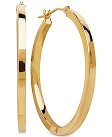Hoop Earrings 14k Gold Earrings