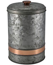Thirstystone Large Two-Tone Galvanized Canister