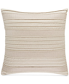 "CLOSEOUT! Hotel Collection  Ogee 18"" Square Decorative Pillow, Created for Macy's"
