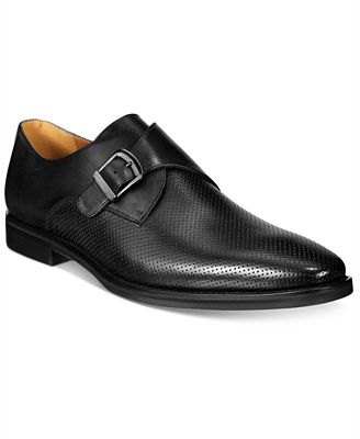Alfani Men's Rowan Perforated Monk Strap Oxfords