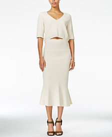 RACHEL Rachel Roy Crop Top & Midi Skirt, Created for Macy's