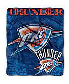 Northwest Company Oklahoma City Thunder 50x60in Plush Throw Drop Down
