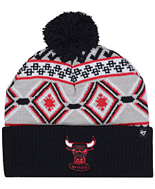 '47 Brand Chicago Bulls Hardwood Classic Up North Knit Hat