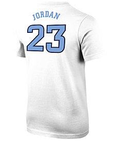 Nike Michael Jordan North Carolina Tar Heels Future Star Replica T-Shirt, Big Boys