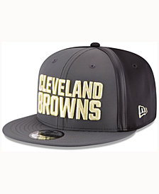 New Era Cleveland Browns Tactical Camo Band 9FIFTY Snapback Cap