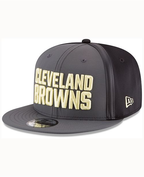 New Era Cleveland Browns Tactical Camo Band 9FIFTY Snapback