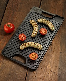 Pre-Seasoned Cast Iron Reversible Grill & Griddle