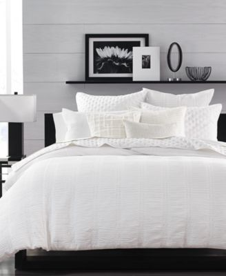 hotel collection pleated stripe bedding collection created for macyu0027s