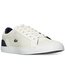 Lacoste Big Boys' Lerond Casual Sneakers from Finish Line
