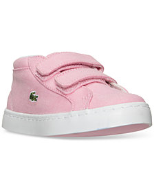 Lacoste Toddler Girls' Straightset Chukka Casual Sneakers from Finish Line