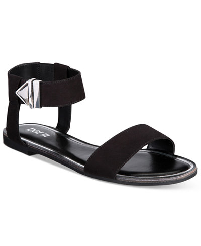 Bar III Victor Two-Piece Flat Sandals, Only at
