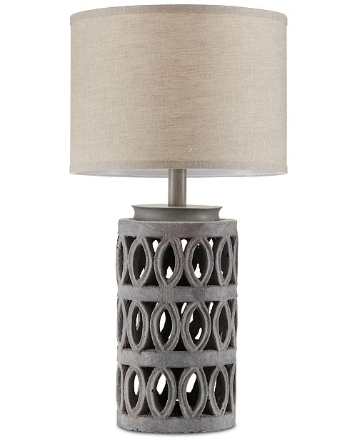 510 Design INK+IVY Ambit Cement Table Lamp