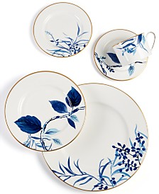 kate spade new york Birch Way Indigo Dinnerware Collection