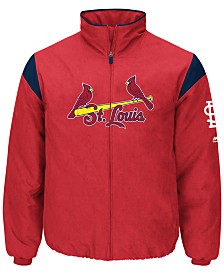 Majestic Men's St. Louis Cardinals On-Field Thermal Jacket