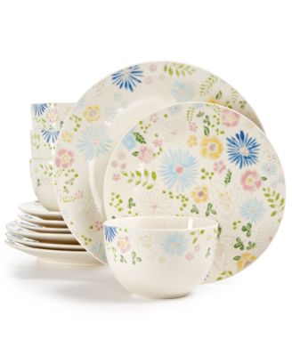 Product Picture  sc 1 st  Macy\u0027s & Martha Stewart Collection Painter\u0027s Garden Dinnerware Collection ...