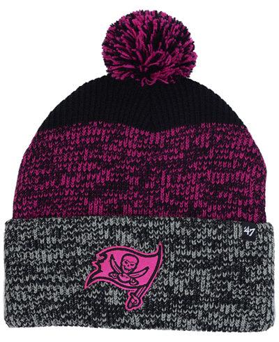'47 Brand Tampa Bay Buccaneers Static Cuff Pom Knit Hat