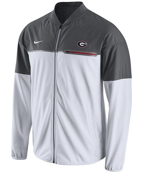 Nike Men's Georgia Bulldogs Flash Hybrid Jacket