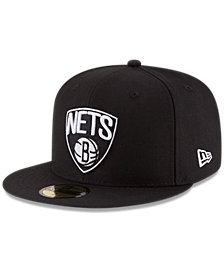 New Era Brooklyn Nets Solid Team 59FIFTY Cap
