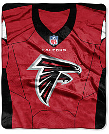 Northwest Company Atlanta Falcons Jersey Plush Raschel Throw