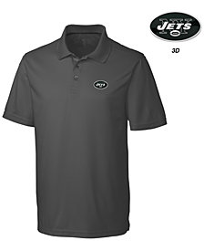 Cutter & Buck Men's New York Jets 3D Emblem Fairwood Polo Shirt