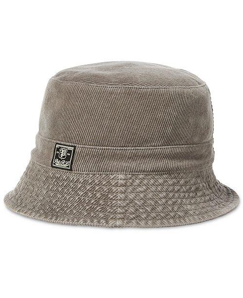 eff4de7756e Polo Ralph Lauren Men s Corduroy Bucket Hat  Polo Ralph Lauren Men s  Corduroy Bucket ...