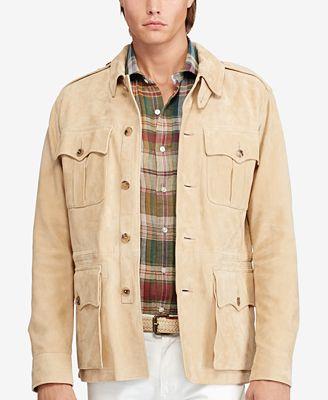 polo ralph lauren men 39 s safari jacket coats jackets. Black Bedroom Furniture Sets. Home Design Ideas