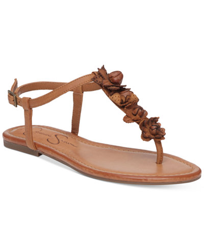 Jessica Simpson Kiandra Detailed Thong Flat Sandals