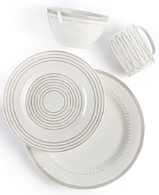 Charlotte Street Grey West Dinnerware Collection